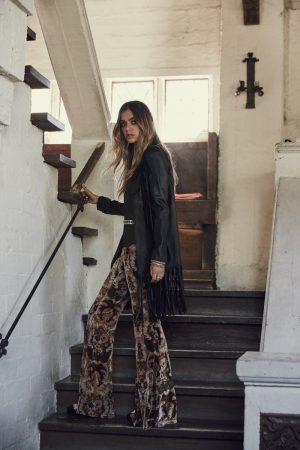 Joanna Halpin Wears Folk-Rock Style for Free People