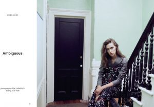 Georgia Hilmer Models 'Ambiguous' Style for Dazed Korea