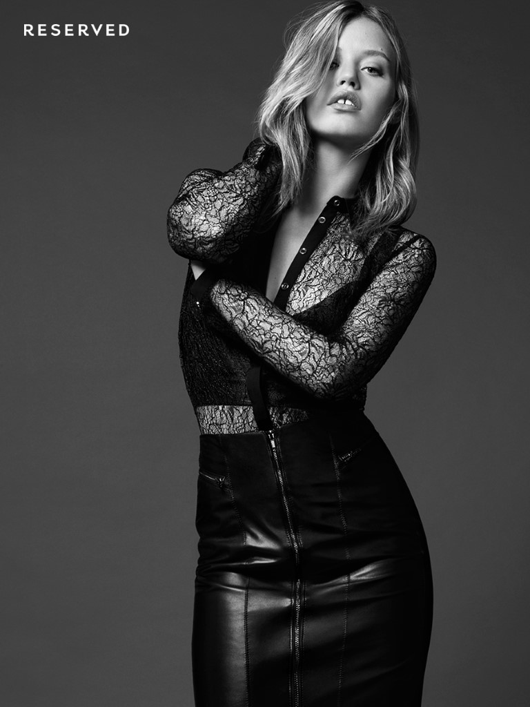 Georgia May Jagger stars in Reserved clothing collaboration campaign