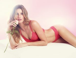 Gisele Bundchen Looks Sweet & Sexy for New Lingerie Campaign