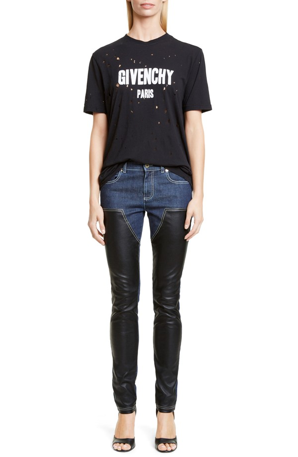 Givenchy Destroyed Cotton T-Shirt