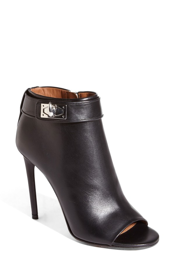 Givenchy Open Toe Bootie