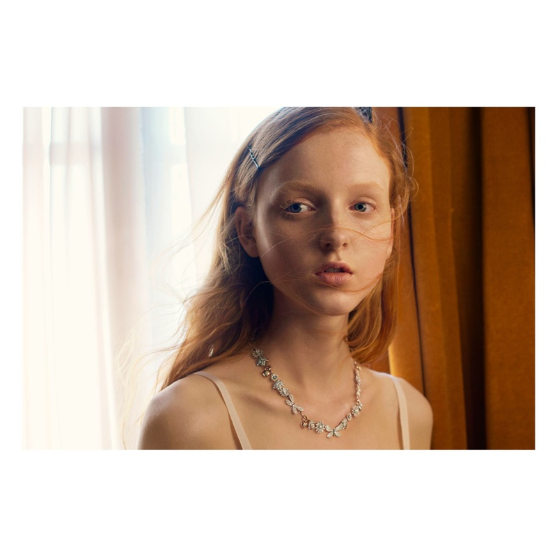 Madison Stubbington Fronts Gucci Jewelry Campaign