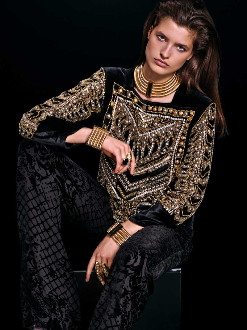 HM-Balmain-2015-Lookbook13