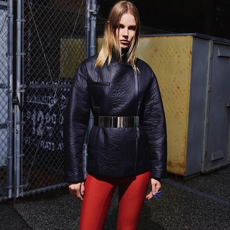 California Dreaming: Imaan, Suvi & Rianne Model H&M`s Fall 2015 Looks