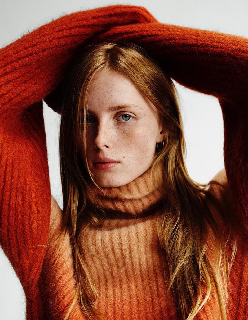 Rianne van Rompaey stars in H&M fall 2015 editorial