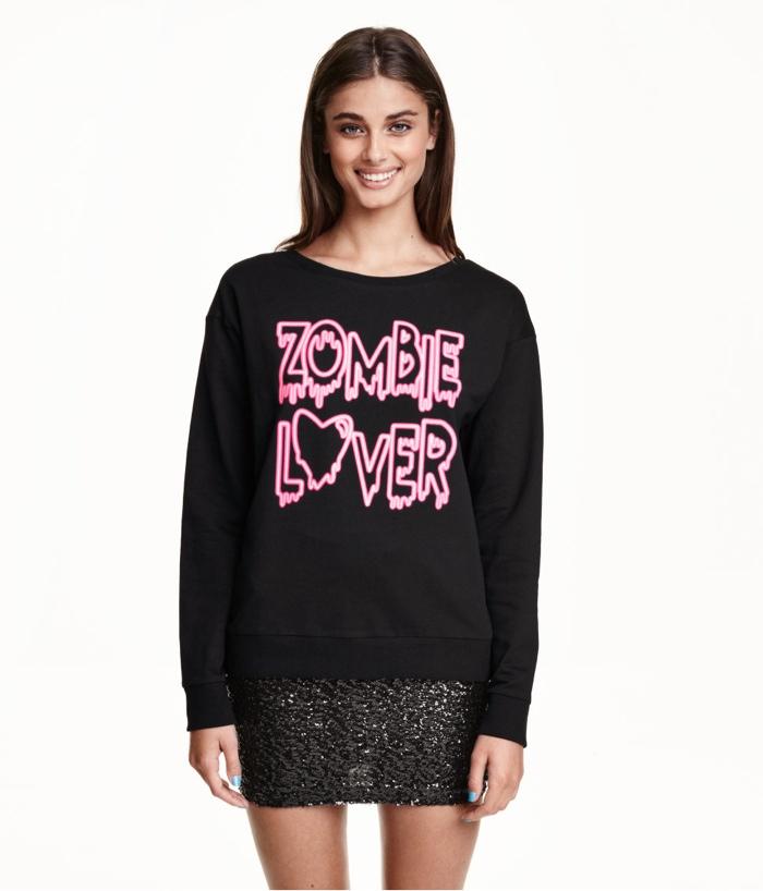 H&M Zombie Lover Sweatshirt