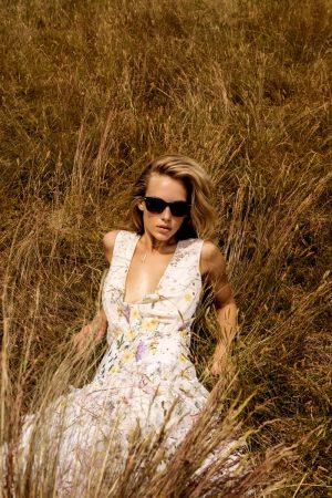 Hannah Ferguson Wows in White Dresses for Brides Magazine