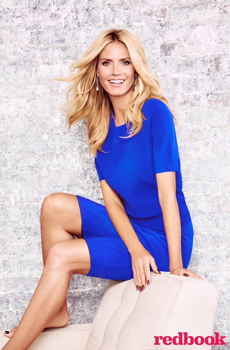 Heidi Klum for Redbook Magazine