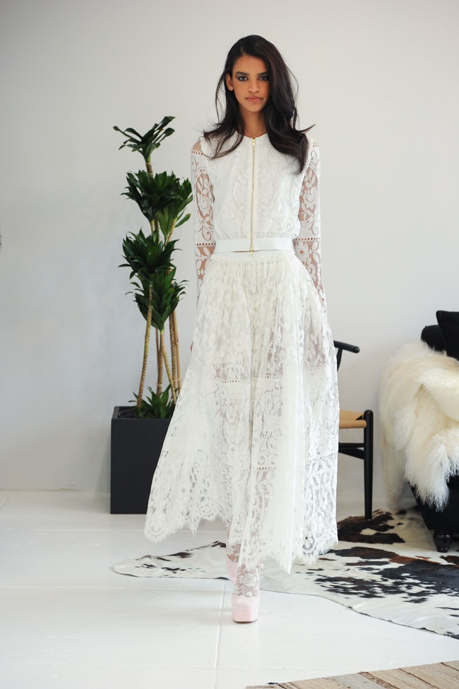 Kate Moss Style Wedding Dress
