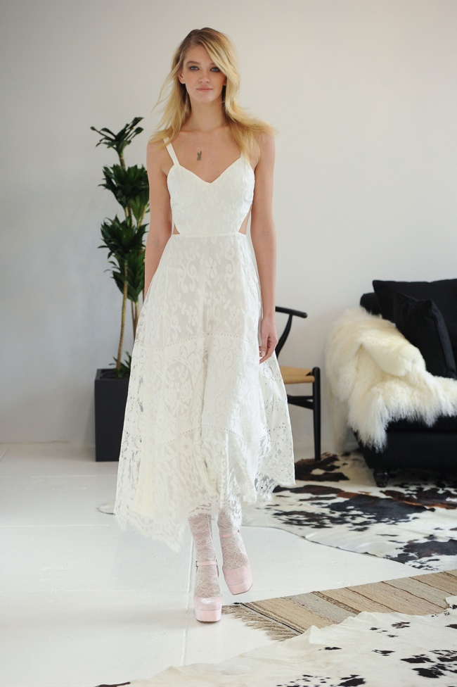 See Houghton Bridal's Fall Collection Inspired by Penny Lane & Kate Moss