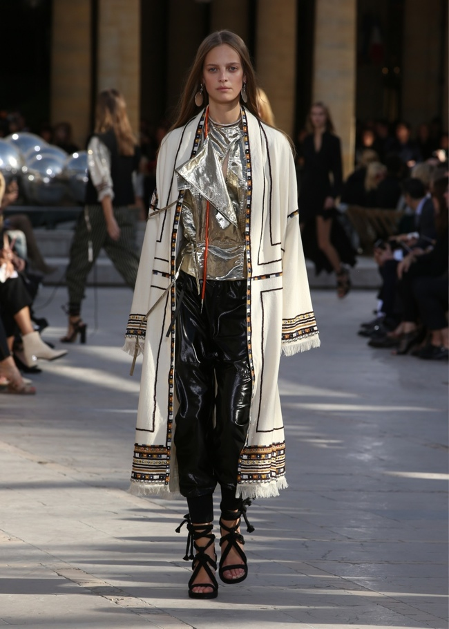 A look from Isabel Marant's spring 2016 collection