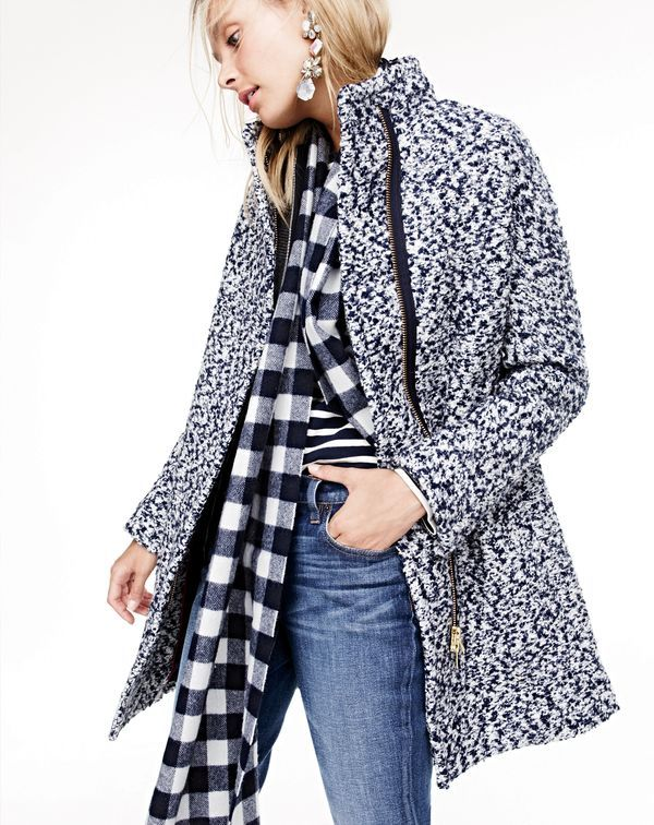 J. Crew 2015 Fall / Winter Women's Coats Shop