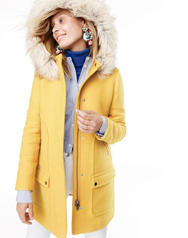 J. Crew Chateau Parka in Stadium Cloth