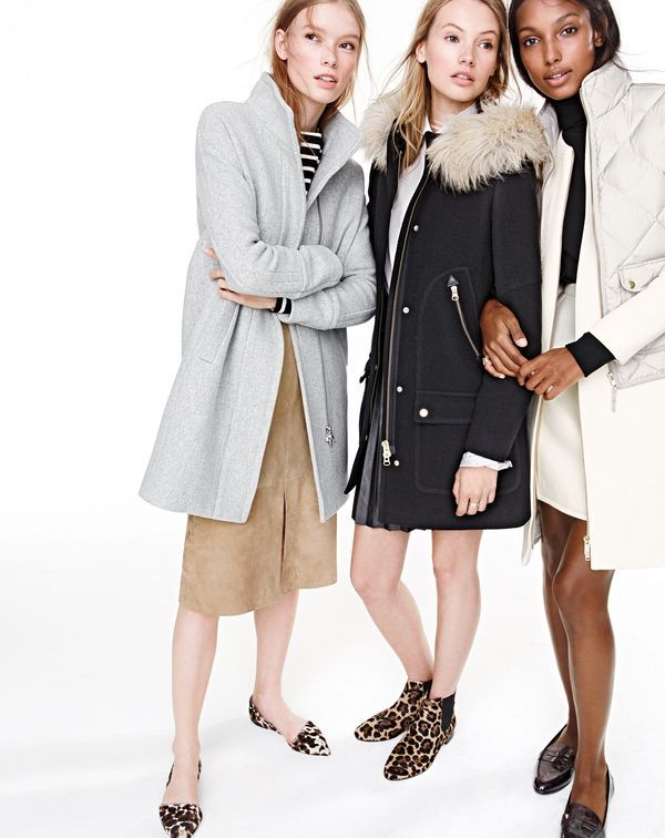 J. Crew 2015 Fall   Winter Women s Coats Shop  633974d80