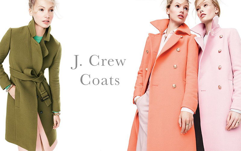 J. Crew Gets Colorful With Fall Outerwear Selection