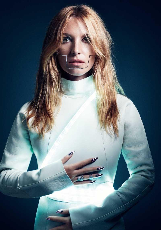 Joséphine de La Baume Gets Futuristic for So Chic Magazine