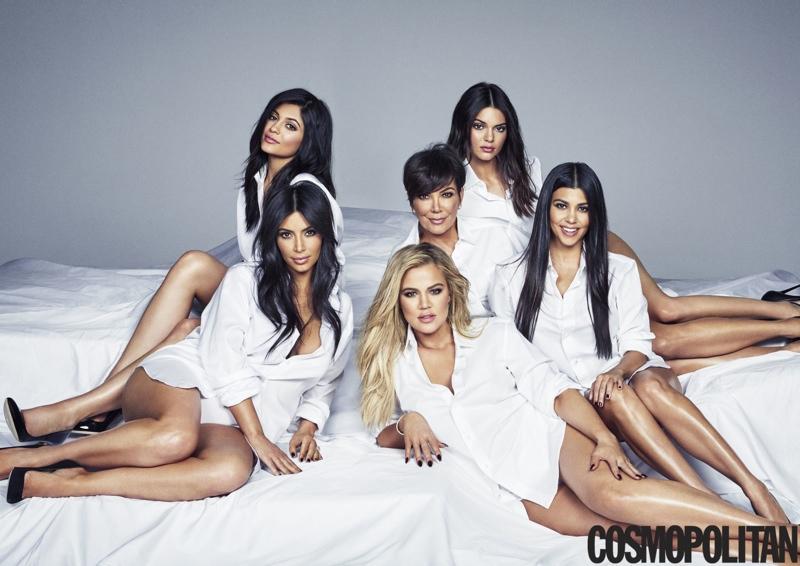 The Kardashian / Jenner Family Lands on Cosmopolitan's November Cover