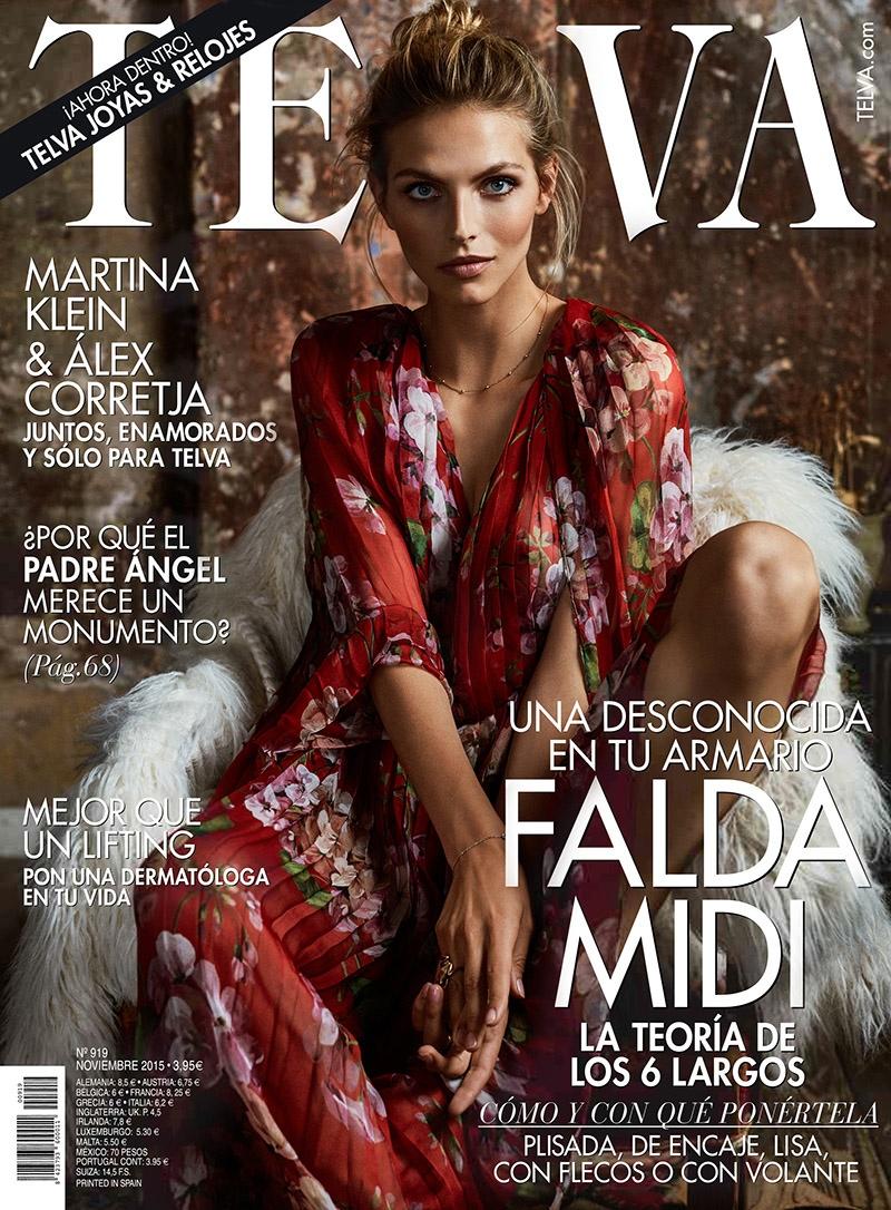 Karlina Caune - TELVA November 2015