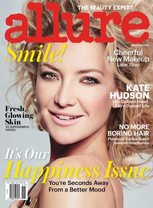 Kate Hudson Goes Sheer in Allure Cover Story