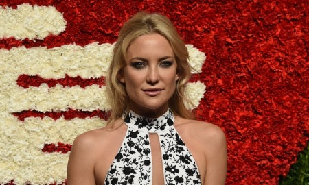 Kate Hudson wears Michael Kors dress at Golden Heart Awards Gala