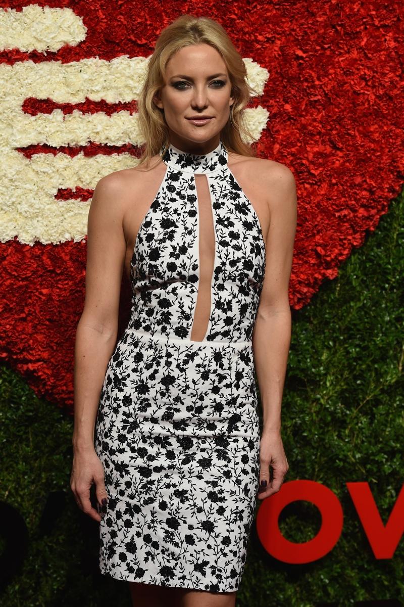 Kate Hudson Wears Custom Michael Kors Dress at Golden Heart Awards Gala