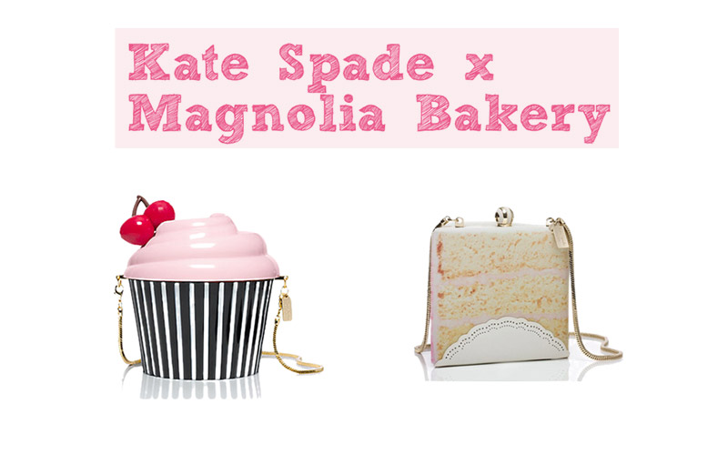 Sweet Designs: Kate Spade x Magnolia Bakery's Accessories Collaboration