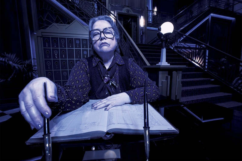 Kathy Bates as Iris