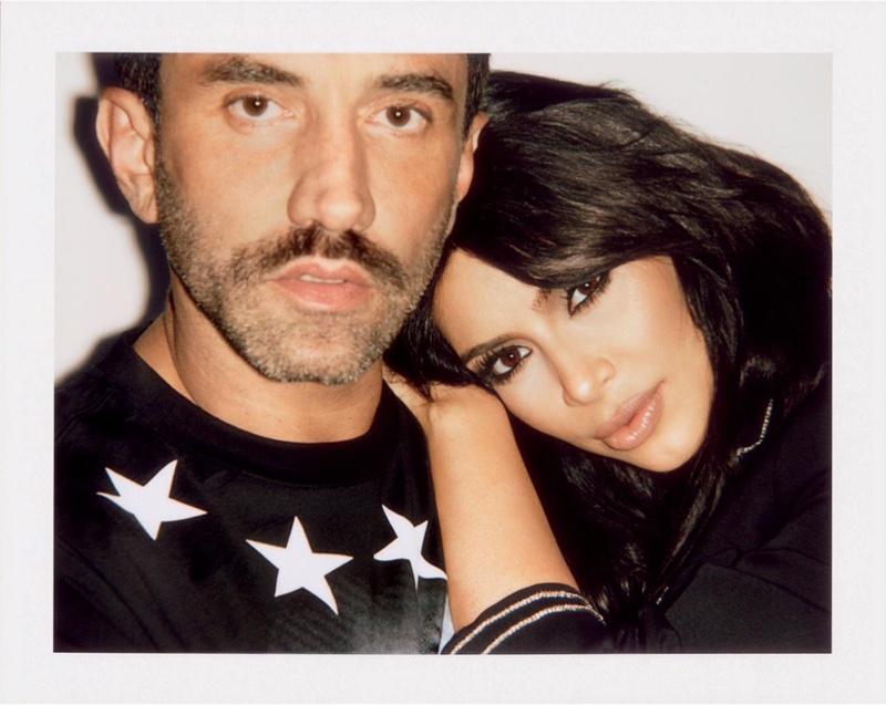 Kim Kardashian & Riccardo Tisci Star in Sorbet Magazine's BFF Issue