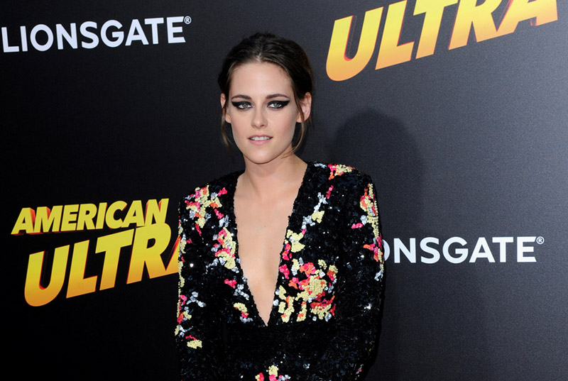 Kristen Stewart Goes Nearly Naked for the 'Towel Series'