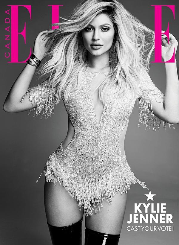 2nd Choice: Kylie wears a La Bourjoisie bodysuit