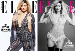 ELLE Canada Puts Kylie Jenner's Cover Up to Vote