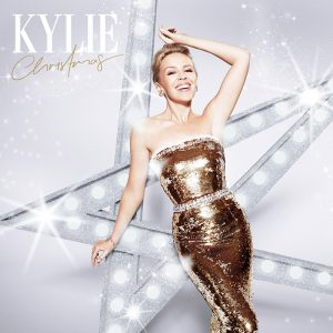 Kylie Minogue Glitters on 'Kylie Christmas' Album Cover