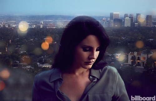 Lana Del Rey poses for Billboard's October issue