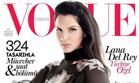 Lana Del Rey on Vogue Turkey November 2015 cover
