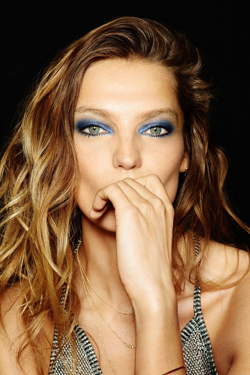 Hypnotic Eyes: Daria Werbowy Fronts Anthony Vaccarello x Lancome