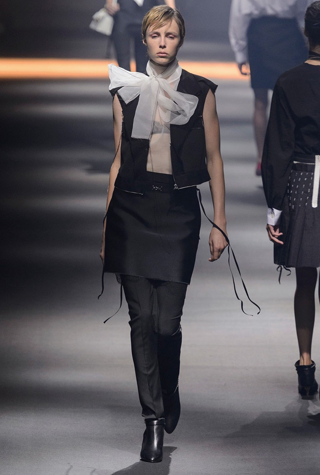 A look from Lanvin's spring 2016 collection