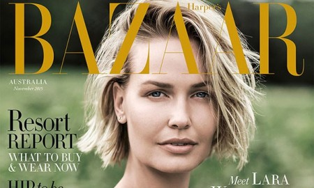 Lara-Worthington-Harpers-Bazaar-Australia-November-2015-Cover2