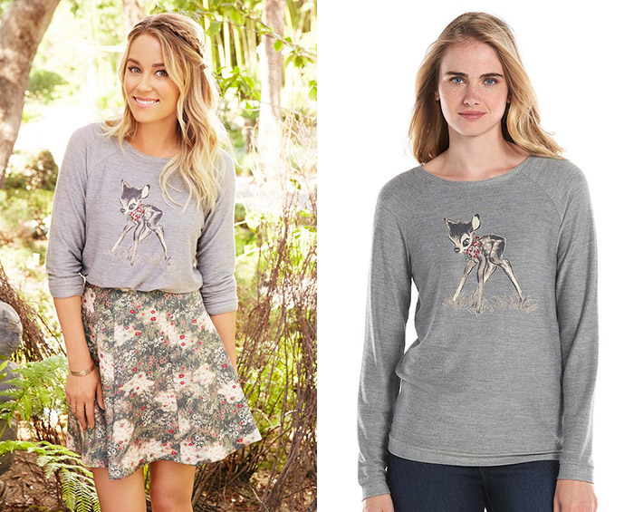 LC by Lauren Conrad x Bambi available at Kohl's