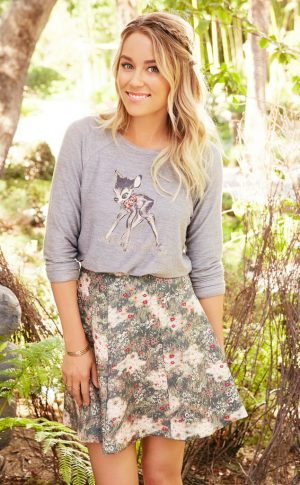 Lauren Conrad Teams Up with Disney for 'Bambi' Inspired Looks