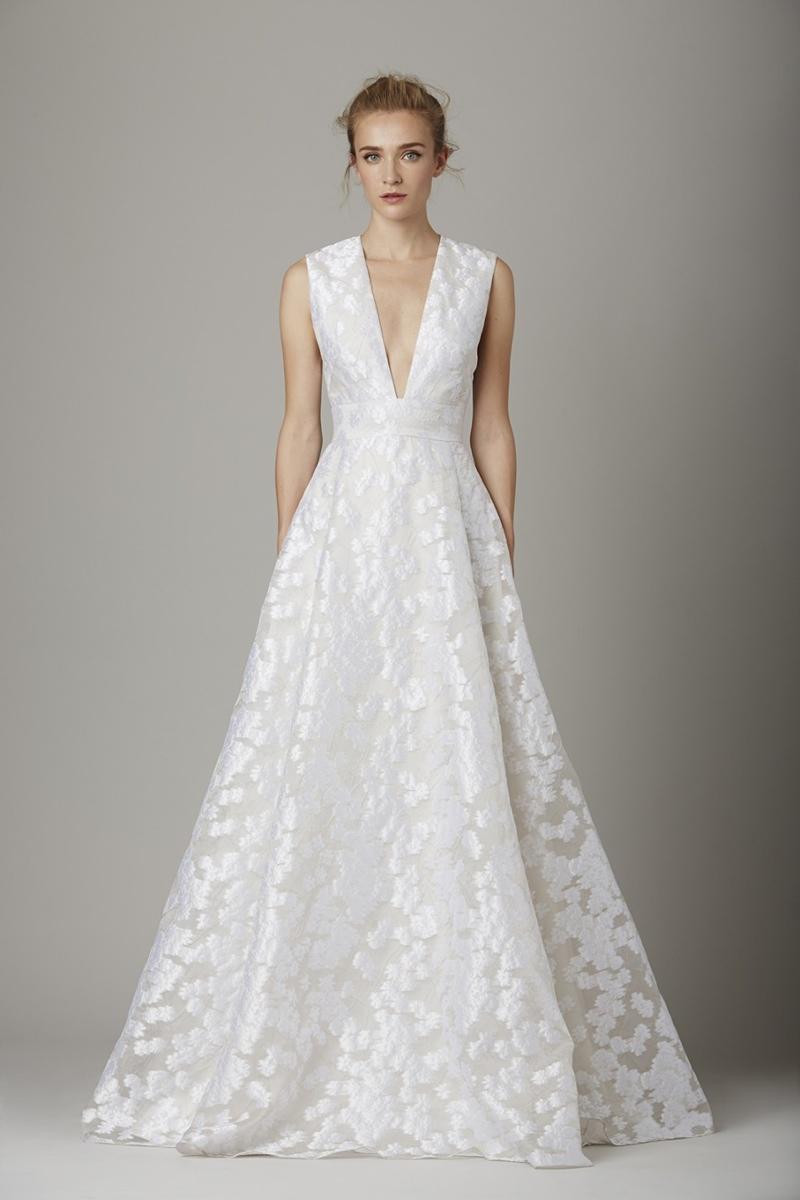 Lela Rose Bridal Embraces Elegant Embroideries For Fall 2016