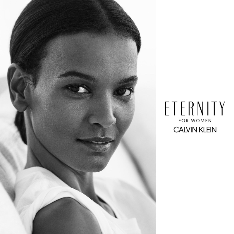 Liya Kebede was named the face of Calvin Klen's Eternity face in 2017. Posing alongside actor Jake Gyllenhaal, the two played a fictional family for the black and white portrait. Liya would also appear in CK's ready-to-wear advertisements a year later.
