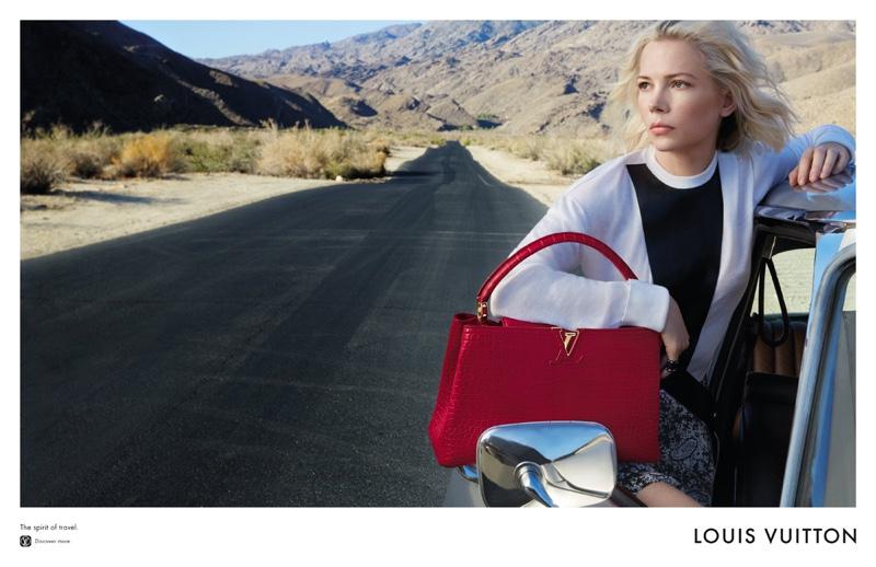 Michelle Williams stars in Louis Vuitton's cruise 2016 campaign