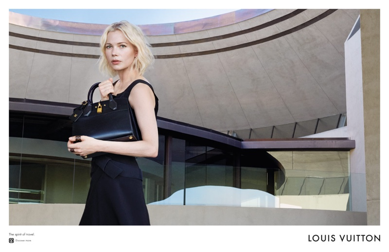 See More Photos of Michelle Williams & Alicia Vikander for Louis Vuitton's Cruise Ads