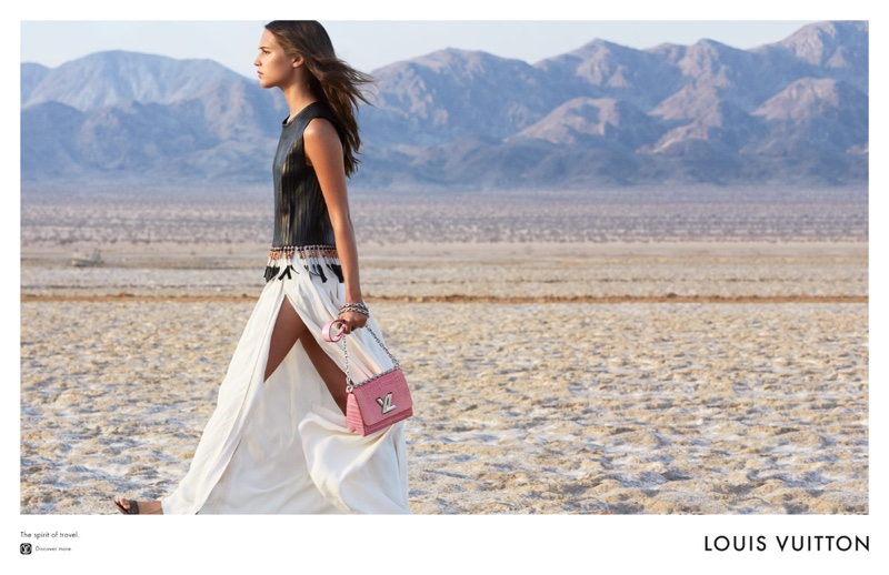 Alicia Vikander fronts Louis Vuitton advertisements