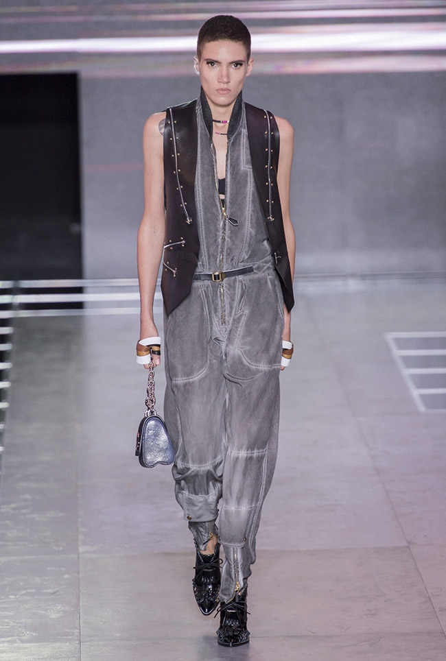 A look from Louis Vuitton's spring-summer 2016 collection