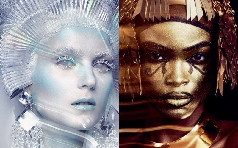 Ice Queen (L) Cleopatra (R)