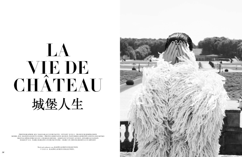 Manon Leloup stars in Vogue Paris Travel
