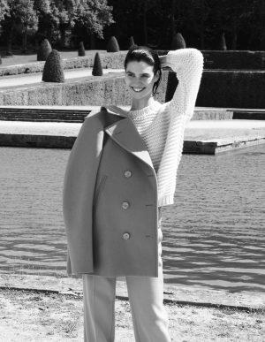 Manon Leloup Poses in Chic Looks for Vogue Paris Travel by Nagi Sakai