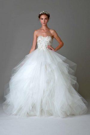 Marchesa Bridal Shines for Fall 2016